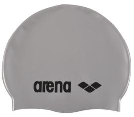Arena Classic Silicone Junior Badmuts Silver-Black