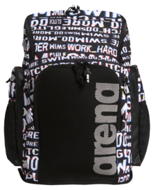 Arena Team Backpack 45 Allover neon-glitch
