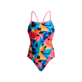 Funkita Colour Burst Single Strap Badpak Meisjes