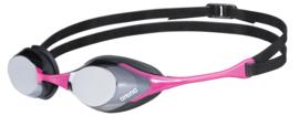 Arena Cobra Swipe Mirror Zwembril Silver- Pink