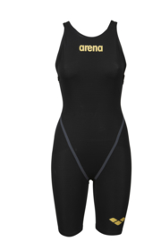 Arena Powerskin Carbon Core FX Open back Black Gold