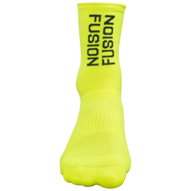 Fusion PWR Cycle Sock MW-Yellow