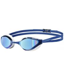 Arena Python Spiegel Zwembril blue-mirror/white