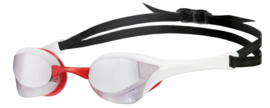 Arena Cobra Ultra Spiegel Zwembril silver-white-red