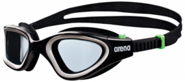 Arena Envision Zwembril black/smoke/green