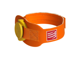 Compressport Timing Chip Strap Oranje