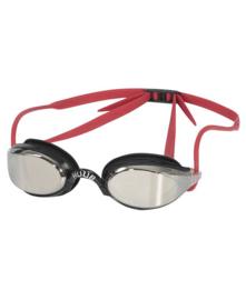 HUUB Zwembril Brownlee Mirror Black-Red-Smoke