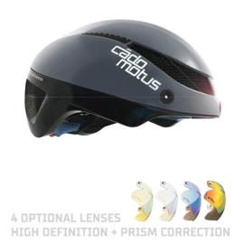 Cadomotus Omega Aerospeed Helm Grijs voor schaatsen en wielrennen