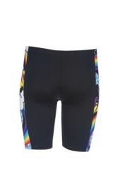 Arena B Rainbows Junior Jammer Black Multi