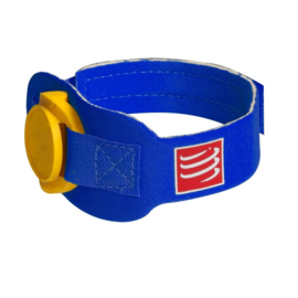 Compressport Timing Chip Strap Blauw