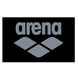 Arena Pool Soft Towel Black Grey