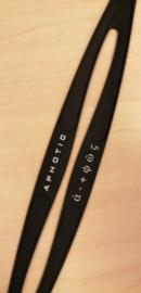 HUUB Zwembril Elastiek voor Aphotic Zwembril - Zwart