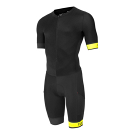 Fusion Speed Suit Black-Yellow Dames