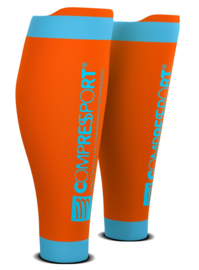 Compressport Calf Sleeves R2 V2 Oranje