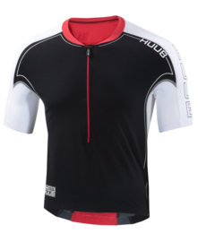 HUUB DS Long Course Tri Top Black/Red/White