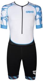 Arena Trisuit Aero Heren Black-White-Blue