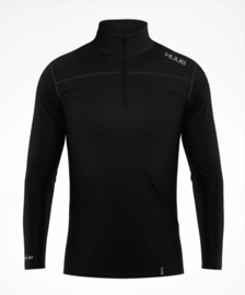 HUUB Merino Half Zip Base Layer Heren Zwart