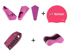 Borstcrawlcursus Zwempakket Beginner Pink