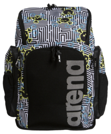 Arena Team Backpack 45 Allover crazy-labyrinth