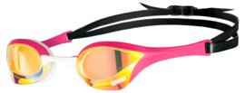Arena Cobra Ultra Swipe Spiegel Zwembril yellow-copper-pink