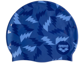 Arena Print 2 Silicone Badmuts - Lightning Colours Blue