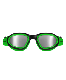 HUUB Aphotic Zwembril - Polarised Mirror - Groen