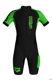 Arena M Swimrun Wetsuit black-fluo-green - Heren