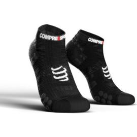 Compressport Pro Racing Socks V3.0 Low Zwart