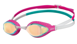 Arena Airspeed Mirror Zwembril yellow-copper-pink-multi