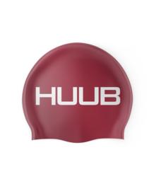 HUUB  Silicone Swim Cap -  Shiny Red