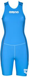 Arena Trisuit ST Rear Zip Womens Brilliant-Blue