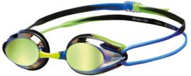 Arena Tracks Mirror Zwembril Blue/Blue/Green