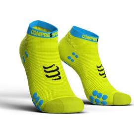 Compressport Pro Racing Socks V3.0 Low Geel