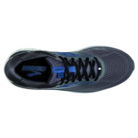 Brooks Addiction 14 Blackenend Pearl/Blue/Black Heren