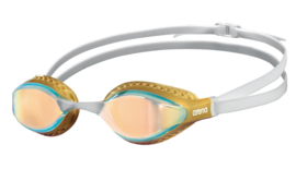 Arena Airspeed Mirror Zwembril yellow-copper-gold-multi