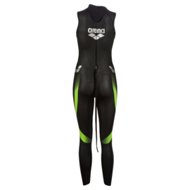 Arena Wetsuit Sleeveless Demo Black Dames maat M