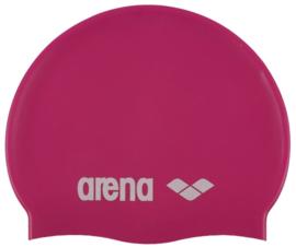 Arena Classic Silicone Junior Badmuts Pink/White