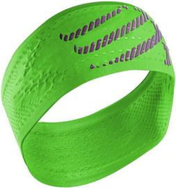 Compressport Headband ON/OFF - Fluo Green