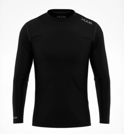 HUUB Merino Long Sleeve Base Layer Heren Zwart