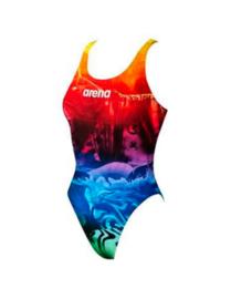 Arena W Swim Tech High Phantasy free-style