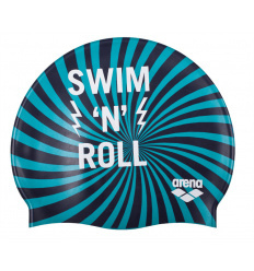 Arena Badmuts junior print Swim 'n Roll Navy