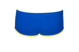 Arena M Arena One Biglogo Low Waist Short blue-yellow-star