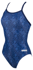 Arena W Kikko Light Drop Back Badpak navy-multi