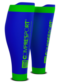 Compressport Calf Sleeves R2 V2 Blauw