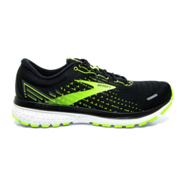 Brooks Ghost 13 Black/Nightlife/White Heren