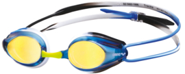 Arena Tracks Mirror Zwembril Blue/Black/Blue