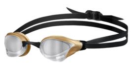Arena Cobra Ultra Swipe Spiegel Zwembril silver-gold