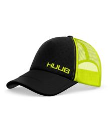 HUUB Running Baseball Cap Fluor Yellow Black