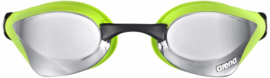 Arena Zwembril Cobra Core Spiegel Zilver Groen