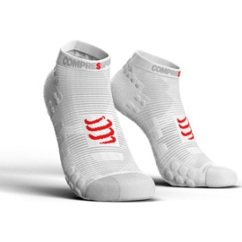 Compressport Pro Racing Socks V3.0 Low Wit